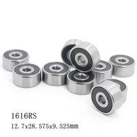 1616 2RS ABEC-1 10PCS 1/2\