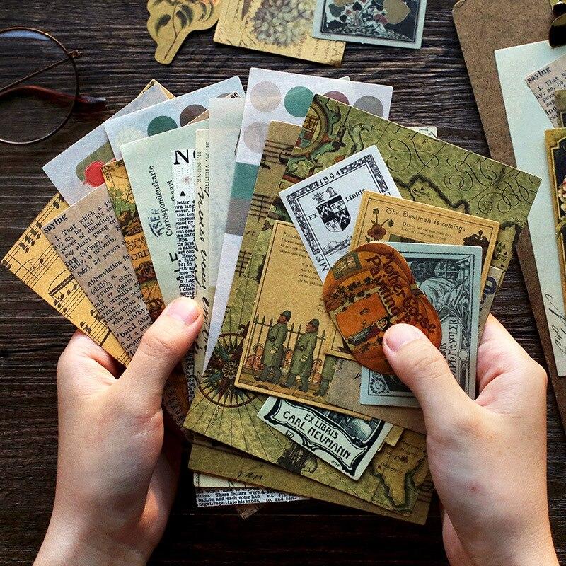 mohamm-40pcs-rinascimentale-serie-scrapbooking-adesivi-di-carta-vintage-sticker-fiocchi-stazionario-ufficio-accessori-rifornimenti-di-arte