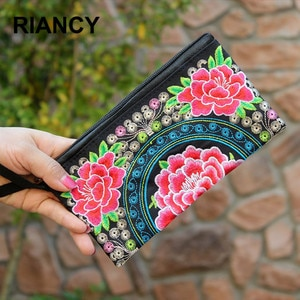 Chinese Ethnic Style Embroidery school pen case fabric pencil bag etui a crayons cuir pencil pouch stifte tasche pencil ca 04937