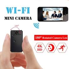Cam Mini WiFi Kamera 4K HD Video Audio Recorder mit IR Nachtsicht Motion Erkennung Kleine Drahtlose Camcorder mini cam