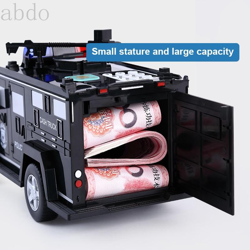 حصالة على شكل حيوان كهربائي للورق المال الذكية عملة النقدية البنك صناديق المال للأطفال ألعاب أطفال هدايا الإبداعية التمويه آمنة