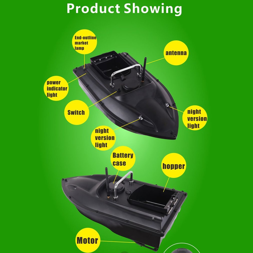 2021 NEW D13 Smart RC Bait Boat Dual Motor Fish Finder Ship Boat Remote Control 500m Fishing Boats Speedboat Fishing Tool Toys enlarge