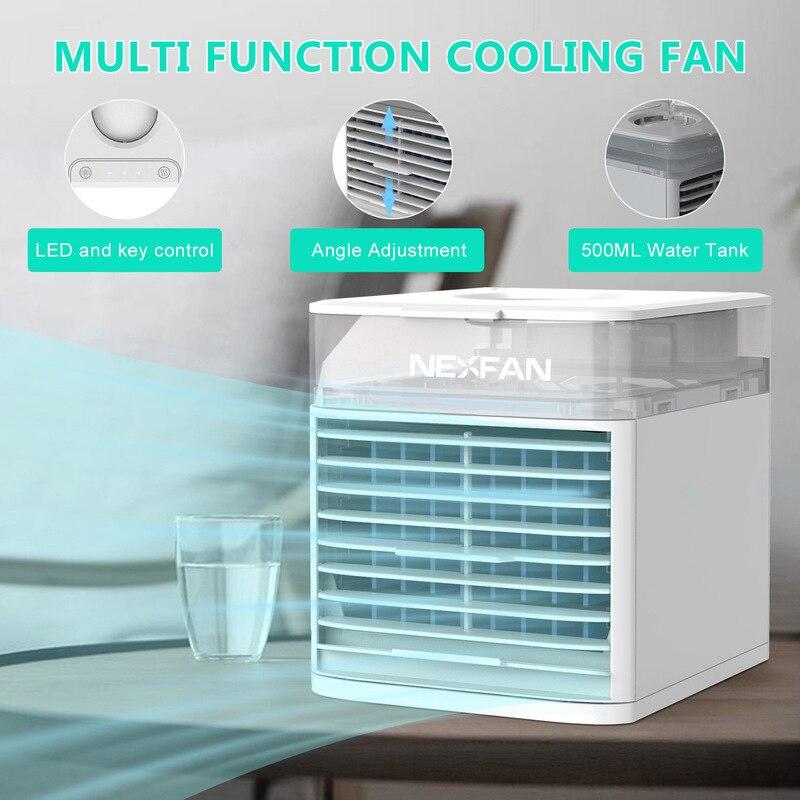2021 USB Mini Klimaanlage Fan mit UV Uv Sterilisation Desktop Klimaanlage Kleine Haushalts Lüfter