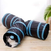 pet cat tunnel funny toys for cats foldable cat toys interactive cat rabbit animal play games tunnel chat pet supplies