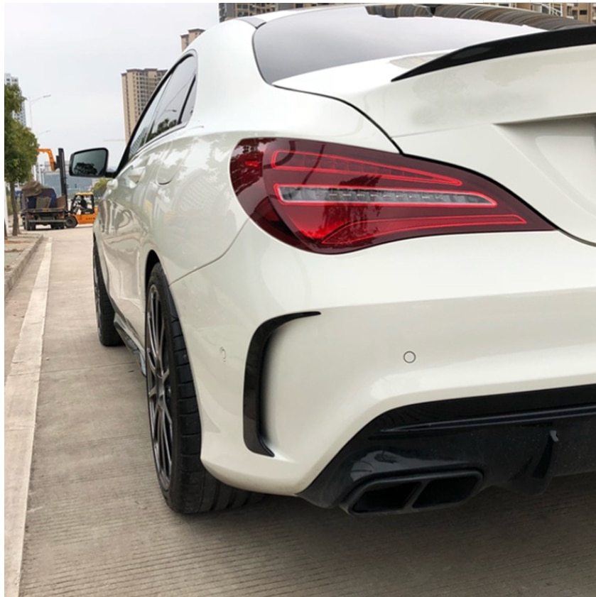 NEW-Rear Bumper Spoiler Air Vent Cover for Benz Cla W117 Cla45 Amg 2013-2018 enlarge