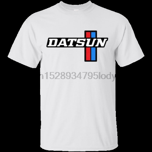Datsun 610 510 nissan logotipo retro 1970s 1960s carro japonês camiseta (1)