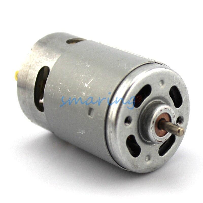 Mini Ferramenta de Potência Do Motor Do Motor DC 6 V-24 V 550 Motor para Motores de controle Remoto DIY Carro Elétrico