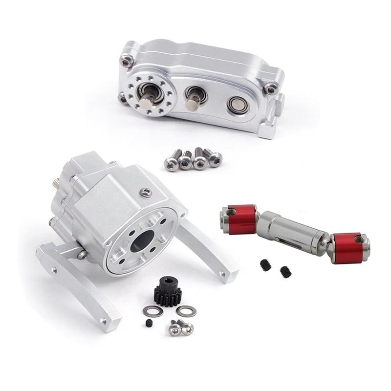 الجبهة نقل المحرك المسبق علبة التروس نقل ل 1/10 RC الزاحف سيارة محوري SCX10 و SCX10 II أجزاء