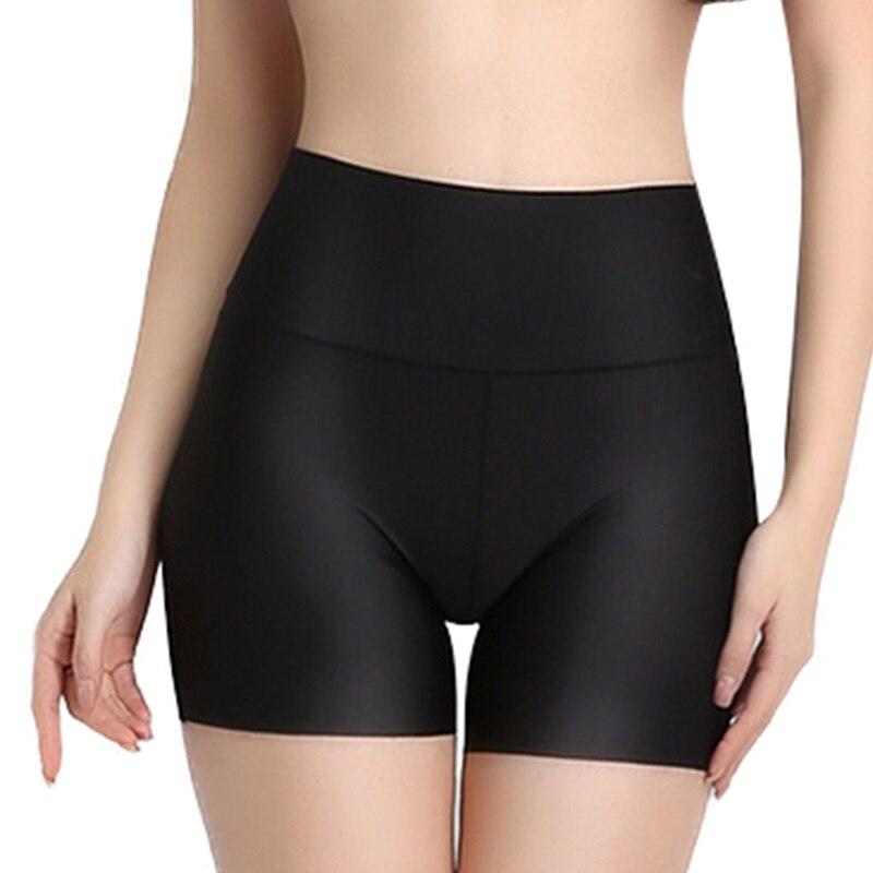 Pantalones cortos de seguridad para mujer de bragas de cintura alta de...
