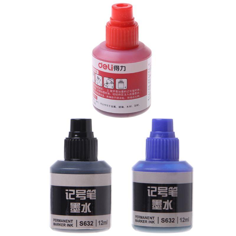 12 мл водостойкая мгновенно сухая краска для граффити ручка масляные чернила Заправка для маркерных ручек