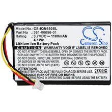 Cameron Sino 1100mAh Battery for Garmin 010-01211-01, Nuvi 65, 65LM, 65LM 6