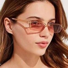 Gradient Women Sunglasses Lentes De Sol Mujer 2020 Vintage Brand Glasses for Women Female Rectangle