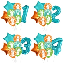 Scooby DOO Balloons Scooby Party Supplies Baby Shower Birthday Party Decorations Globos Kids Toys Ba