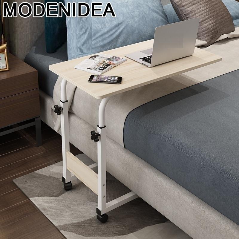 Escritorio portátil para cama ajustable, Mesa de mesita de noche, Mesa de...