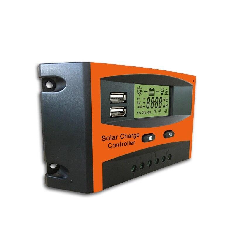 Fabricante do Controlador de Led Inteligente de Carga de Iluminação Controlador da Lâmpada Atacado Solar 20a 30a Rua