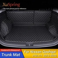 car rear tail trunk mat durable boot pat cargo liner protective covers for nissan qashqai j10 j11 2006 to 2020 2017 2018 2013