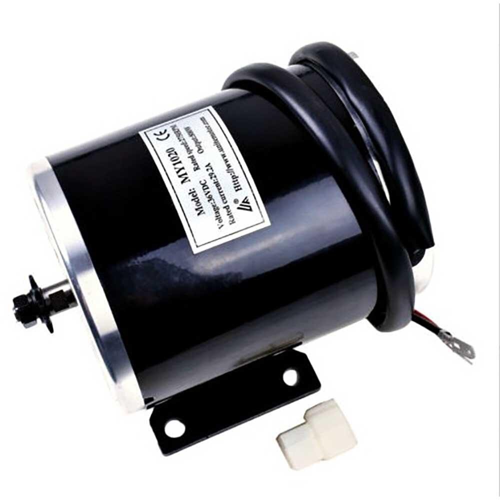 MY1020 800 واط 36 فولت موتور كهربائي بتيار مستمر توحيد المحرك يناسب سكوتر المتطرفة دراجة ثلاثية العجلات EVO