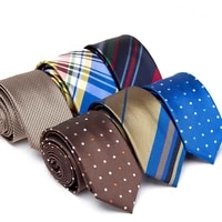 mens ties fashion stripe dot jacquard necktie casual formal dress tie for men gift bowtie wedding business party accessories