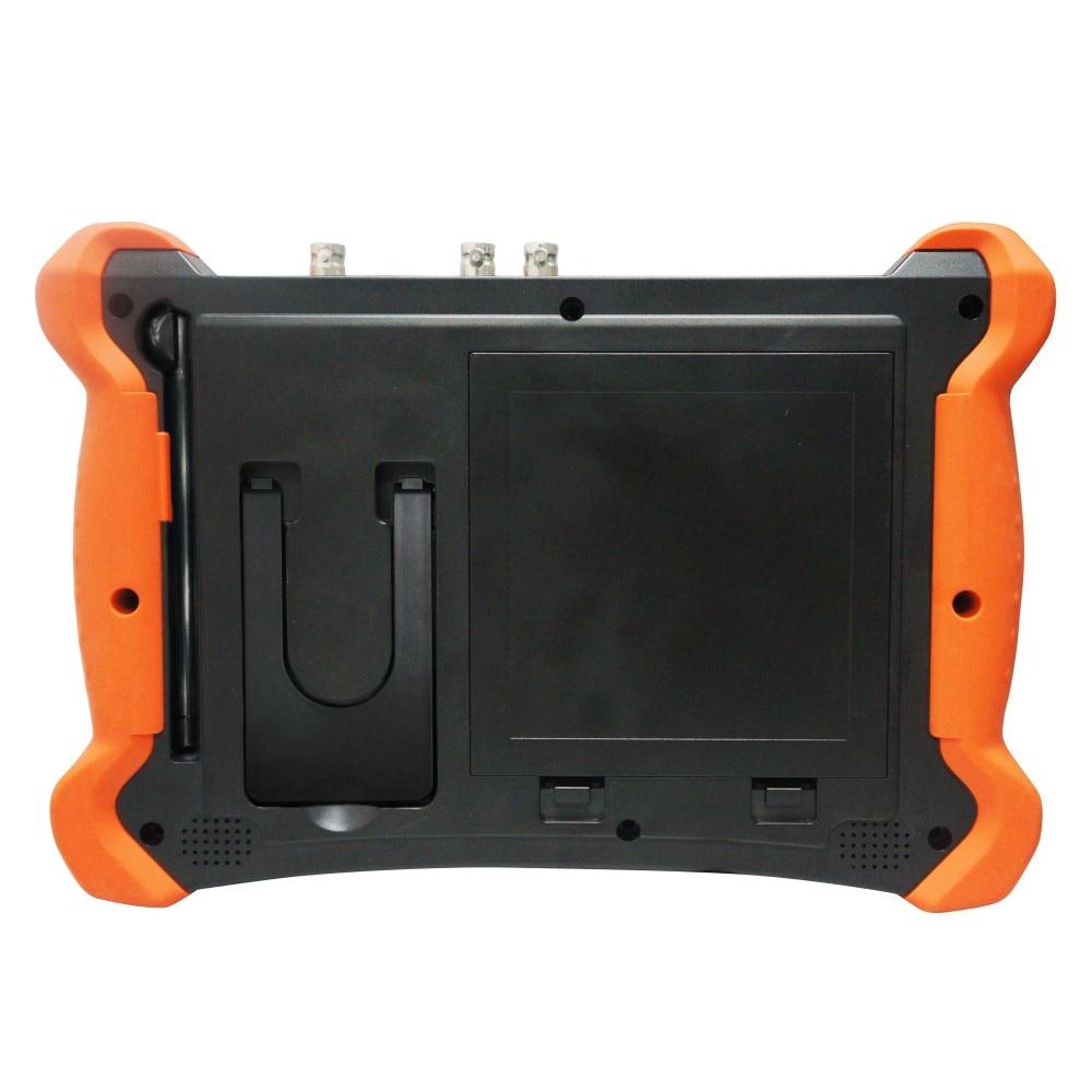 Professional CCTV Tester Tools Monitor with TDR X9 8inch H.265 4K 8MP 5MP AHD SDI CVBS CCTV Tester TVI CVI IP Camera Tester enlarge