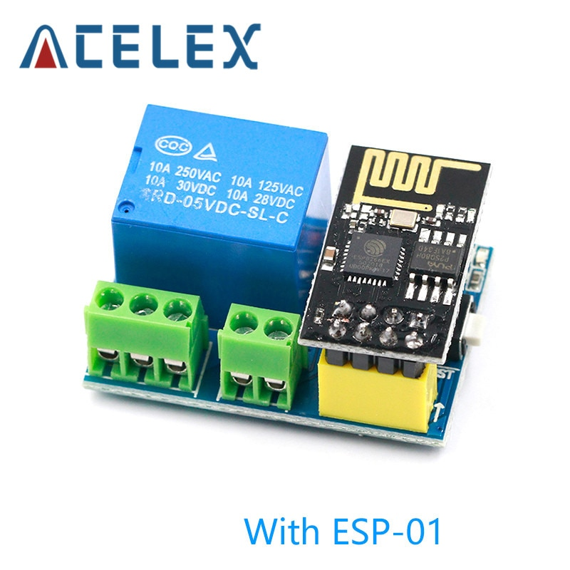 ESP8266 5V WiFi relay module Things smart home remote control switch phone APP ESP-01 relay module