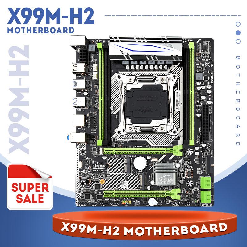 For mining CHIA X99 Desktop Motherboard LGA2011-3 with  M.2 NVME slot Support 2*PCIE 16X Slots DDR4 ECC SATA3.0 USB3.0
