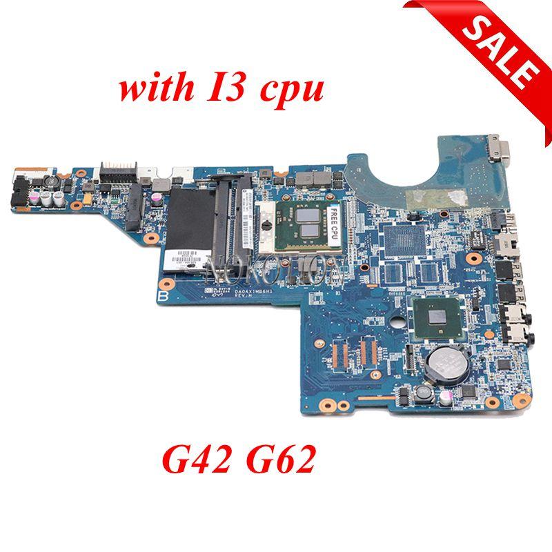NOKOTION 595184-001 DA0AX1MB6H1 материнская плата для ноутбука HP Pavilion G42 G62 серии s989 HM55 материнская плата работает