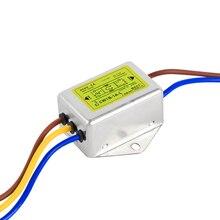 Filtre dalimentation AC 220V   Anti-brouillage, filtre audio EMI line, purificateur audio 1A 3A6A10A