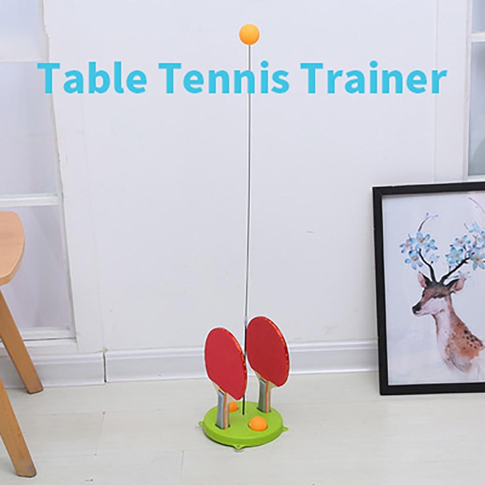 Домашнее домашнее эластичное гибкое устройство для самостоятельной тренировки, одиночная присоска для пинг-понга, базовая присоска, устро...