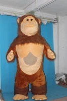 ohlees orangutan 3 5 inflatable mascot costume picture is example onlydo custom according to customer design