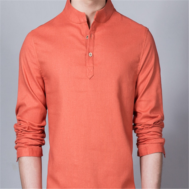 New Men's Ethnic Style Long Sleeve Shirt Blusas Blouse Camisa Bluzki Bluzka Vestidos Casuales Chemise Longue Plus Size Clothes