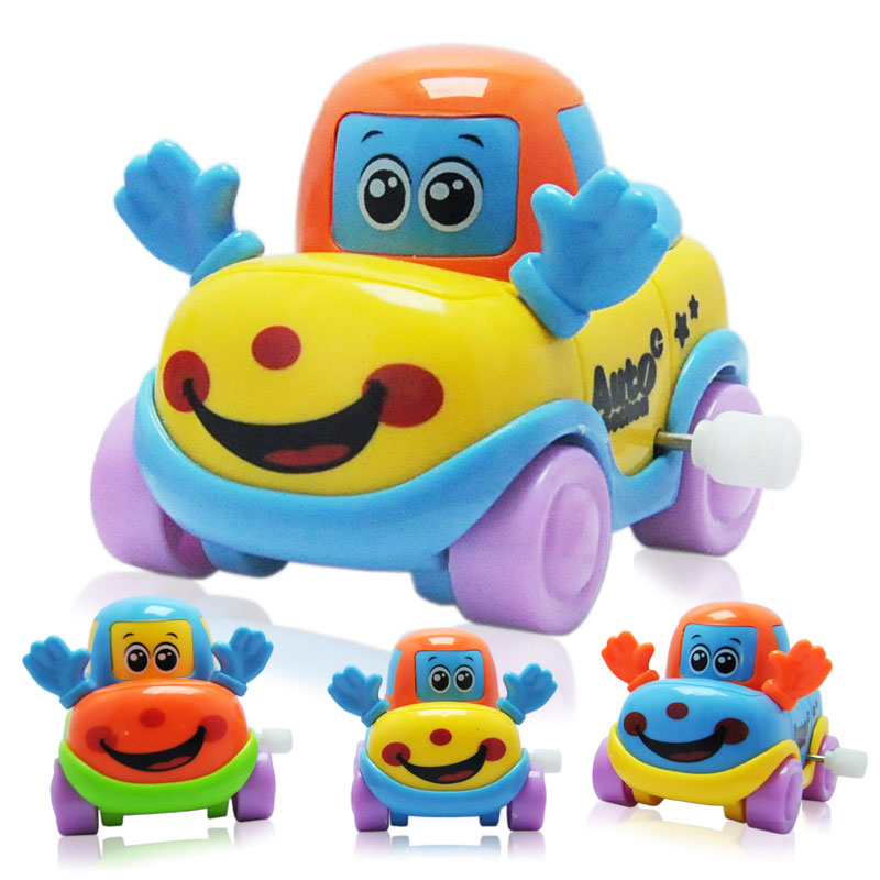 1 Pieces Baby Funny Kids Toys Spring Clockwork Toy Mini Pull Back Jumping Frog/Dog/Lion Wind Up Toys for Children Boys недорого