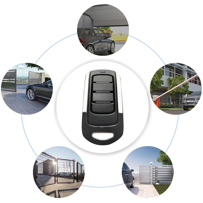433 МГц RF пульт Управление 4 канала гаражные ворота открывания двери дистанционного 433,92 копировальный аппарат MHz с настраиваемым ...