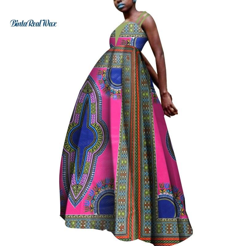 В наличии Размеры 4XL африканская одежда Дашики Африканский Воск Принт платья для женщин в африканском стиле Вечерние WY5163
