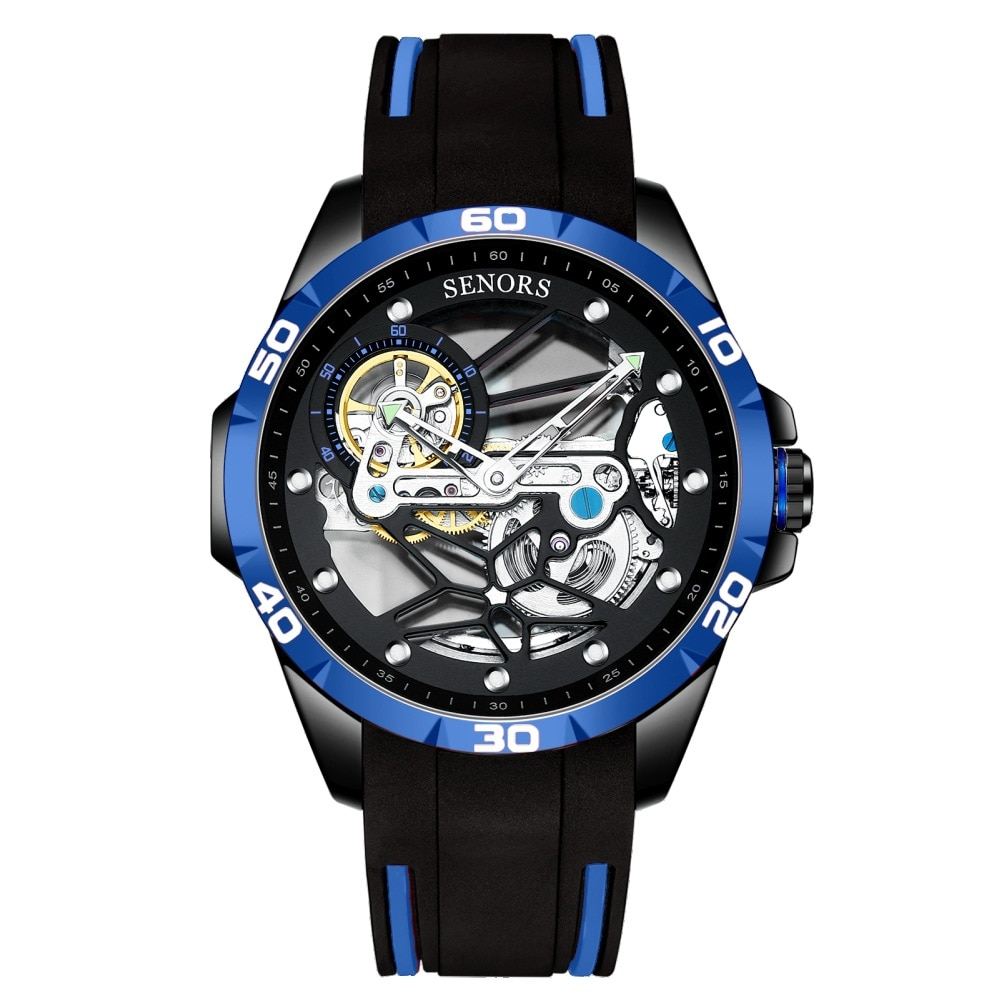 New Fully Automatic Mechanical Tourfy Watch Full Hollow Men's Watch SN186 Free Shipping Items for Women enlarge