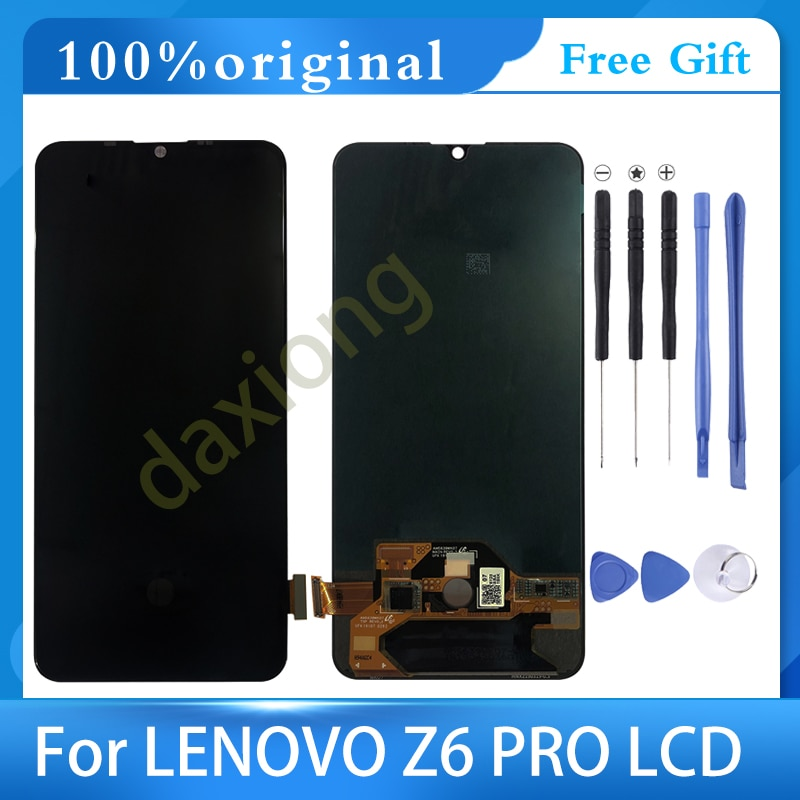 6.39 AAA Original LCD With Frame For Lenovo Z6 PRO Display Touch Screen Digitizer Assembly+ LENOVO L78051