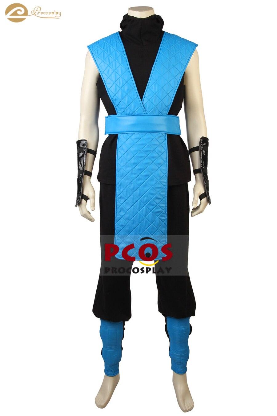 Procosplay mortal kombat x sub-zero cosplay traje para mulher mp005161