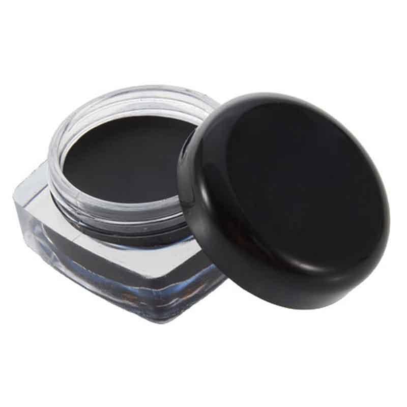 Waterproof Eye Liner Pencil Make Up Black Liquid Eyeliner Shadow Gel Makeup + Brush Black Liquid Eye