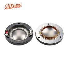 GHXAMP Flat Wires 34.4MM Titanium Diaphragm Tweeter Voice Coil Horn 34MM Core 8OHM Speakers Repair Accessories Driver DIY 2PCS