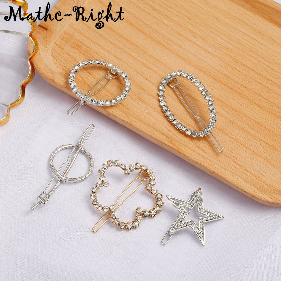 Joyas para el cabello a juego coreanas con diamantes de imitación, pinza para el cabello, pasador, horquilla para boda, accesorios para el cabello SP764