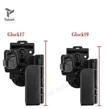 Totrait nouvelle Condition tactique 3 porter étui rapide main droite OWB militaire armée pistolet étui adapté pour Glock 17 19 noir