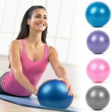 Anti-Pressure Explosion-Proof 25 CM Diameter Yoga Exercise Gymnastics Pilates Yoga Balance Ball Gym Home Training Yoga Balls Hot