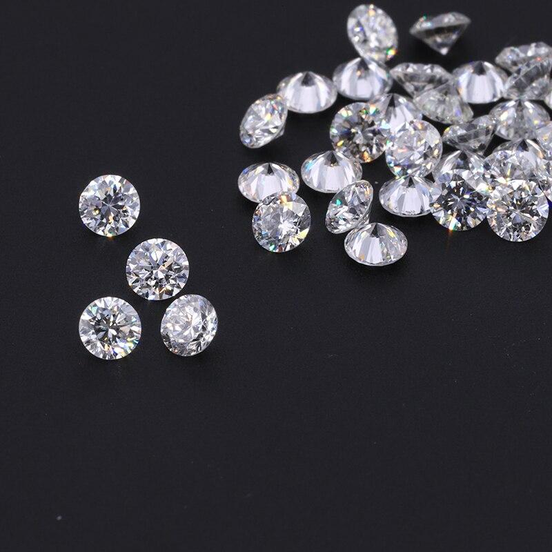 DEF 30 Uds HTHP 2,1mm, diamantes cultivados en laboratorio, alta calidad, mejor precio, diamantes cultivados en laboratorio para ajuste de anillo