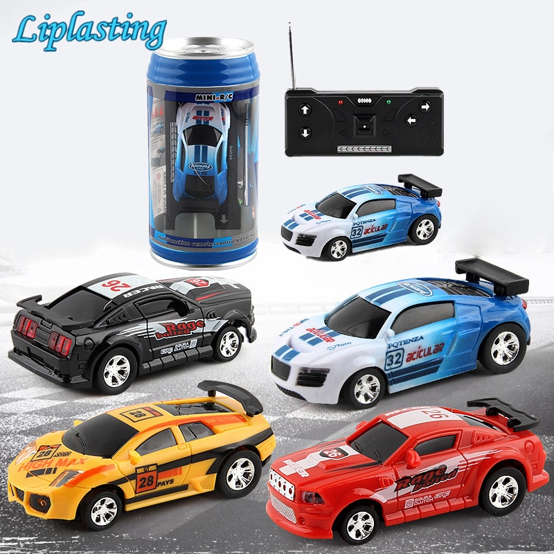 RC Cars Toy Creative Coke Can Mini Collection Radio Controlled Cars Machines On The Remote Control F