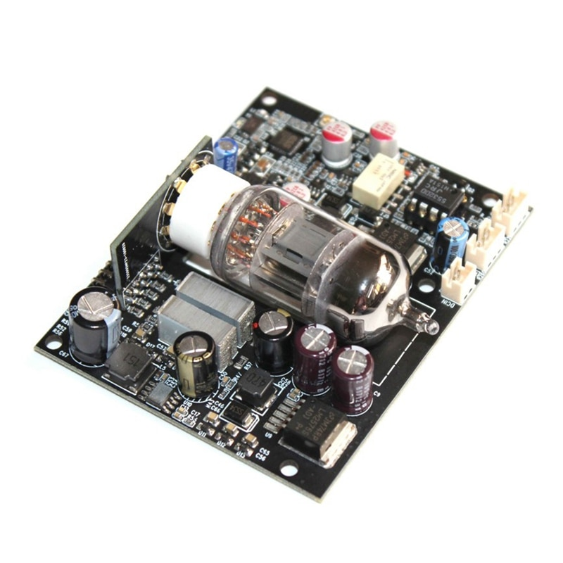JABS CSR8675 Erhalt Bord 12AU7 Rohr 5,0 ES9018 I2S DAC o Decoder Board 24 Bit/96 KHz 12AU7 Elektron rohr