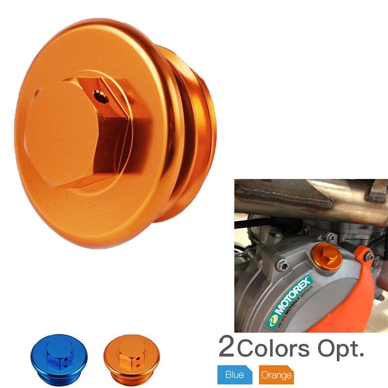Motocicleta cnc billet motor de enchimento óleo plug cap para ktm 690 enduro/r SMC-R 790 aventura/r duke 2019 2020 1290 super duke r/gt