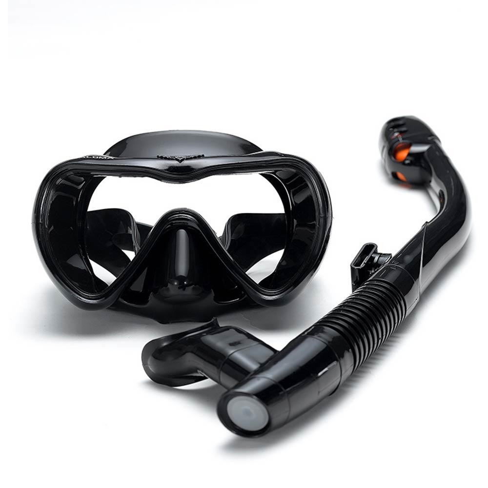 الغوص قناع نظارات السباحة غص مكافحة الضباب نظارات نظارات مجموعة سيليكون السباحة الصيد الغوص معدات