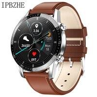 Ipbzhe Smart Watch Men 2021 Android IP68 ECG Smartwatch Men Sports Reloj Inteligente Smart Watch For Phone Iphone Android Huawei