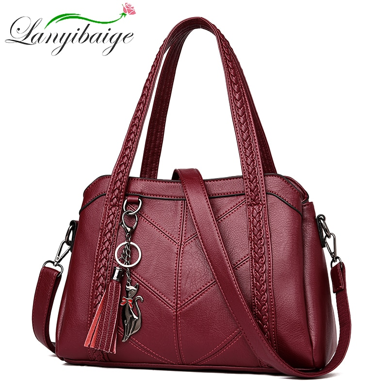 Luxury Handbags Women Bags Designer Genuine Leather Handbags Sac A Main Women Crossbody Messenger Bag Casual Tote Shoulder bags