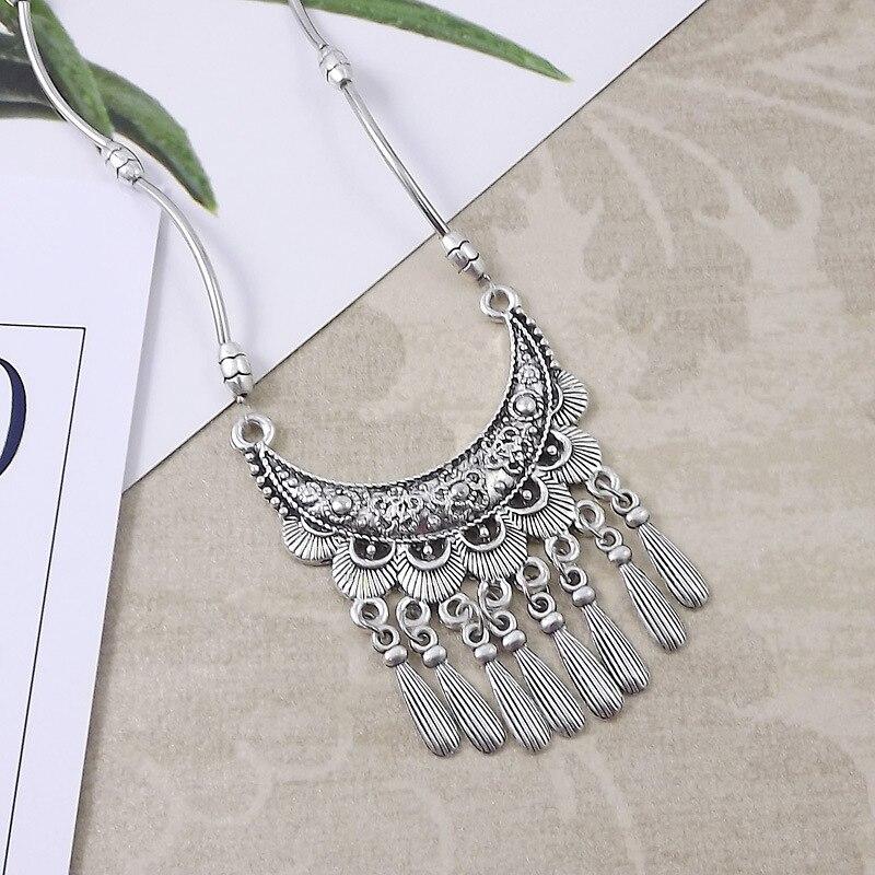 Miao prata acessórios miao colar de prata para as mulheres jóias da forma