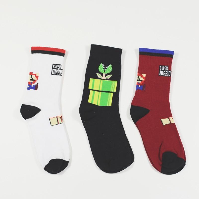 unisex-harajuku-calcetines-tide-brand-street-men-and-women-tide-socks-cotton-super-game-cartoon-cannibal-flower-sock